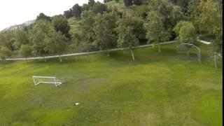 Cleanflight AirMode on Naze32+ Short Clip