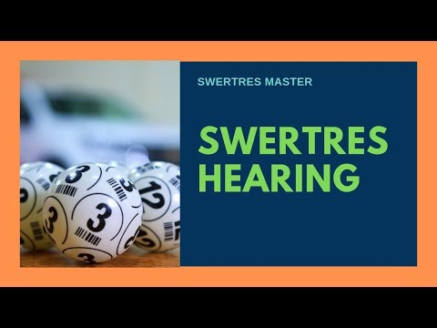 Repeat SWERTRES HEARING TODAY AUGUST 12 2019 | LEIDY KENT by