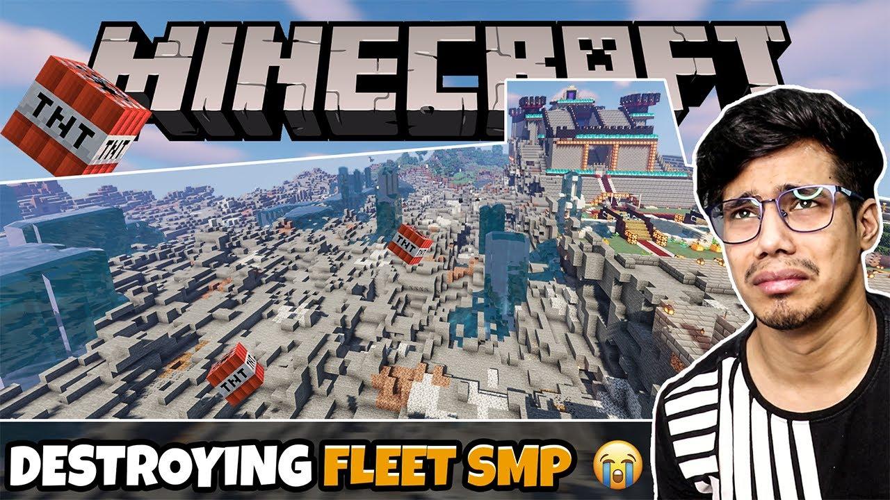Download I DESTROYED Fleet SMP