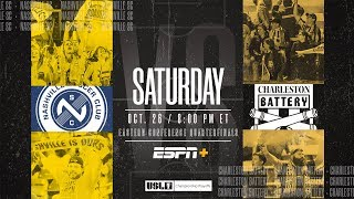 2019 USL Championship Playoffs: Nashville SC vs. Charleston Battery