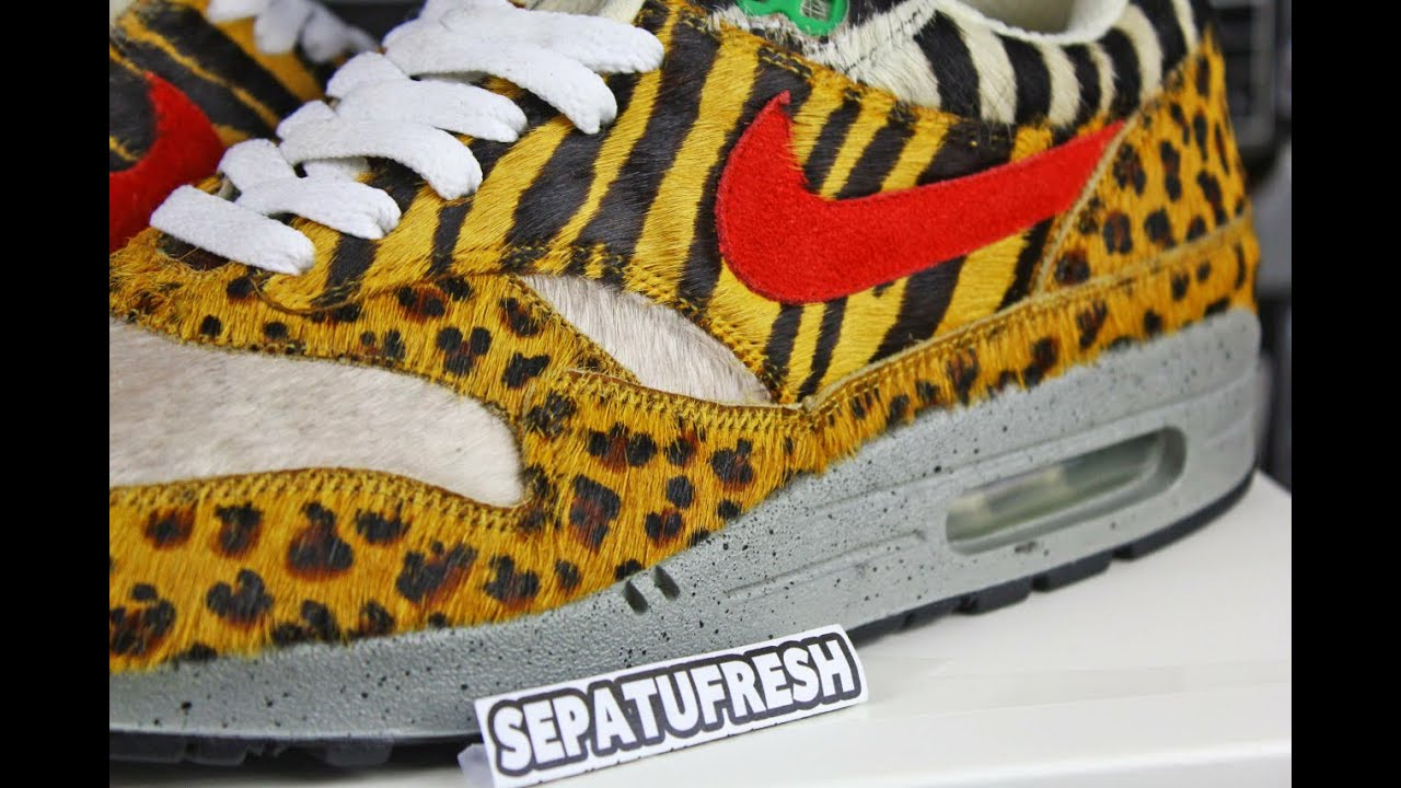 053a051f51 ... denmark nike air max 1 supreme animal prototype sample 61966 40d8a