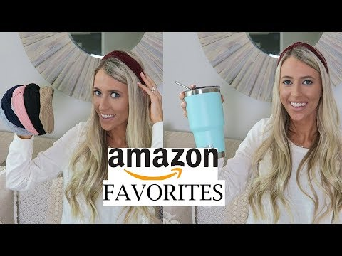 MY AMAZON FAVORITES | HOUSEHOLD, BEAUTY & LIFESTYLE | ERICA LEE thumbnail