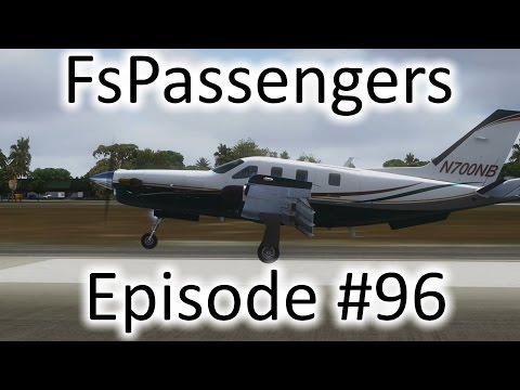 FSX | FsPassengers - Ep. #96 - Santo Domingo to Punta Cana | TBM 850