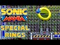 Sonic Mania - 6 Special Rings in Chemical Plant