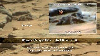 Mars Propeller Found - Ship Confirmed by NASA Rover - ArtAlienTV
