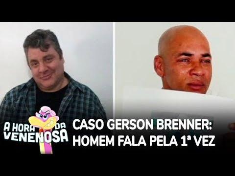 Homem acusado no caso do ator Gerson Brenner fala pela primeira vez