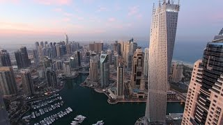 Dubai Marina - Water Bus - Twisted Infinity Tower
