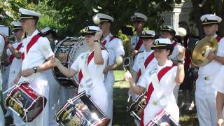 Green Wood Cemetery Battle of Brooklyn The  Regimental Band of US Merchant Marine Academy