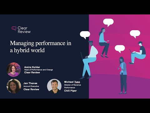 Managing Performance in a Hybrid Working Environment with HR.com