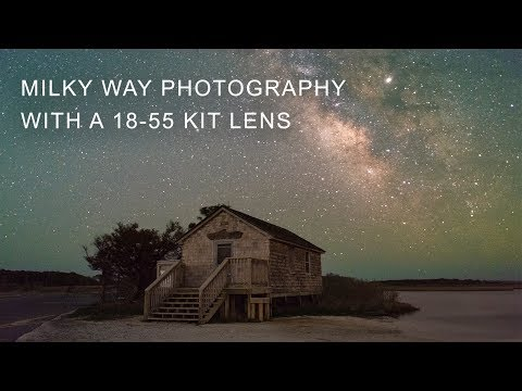 Photographing The Night Sky With A Kit Lens and Crop Sensor DSLR
