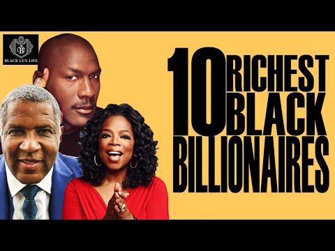 Black Excellist: Top 10 Black Billionaires in the World