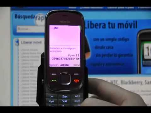 Liberar Nokia 7230, desbloquear Nokia 7230 de Vodafone Movical Net