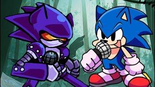 Sonic vs Mecha Sonic - Turbo (Friday Night Funkin Sonic Edition)