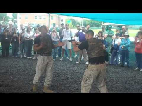 Marines Demonstrate Martial Arts (MCMAP)