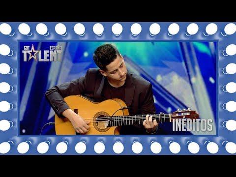 Es capaz de tocar todos los éxitos del momento con su guitarra | Inéditos | Got Talent España 2018