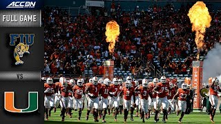FIU vs Miami Full Game | 2018 College Football