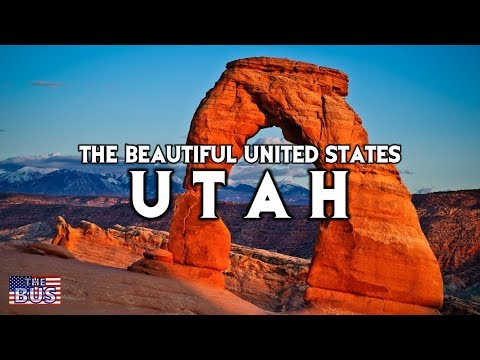 USA Utah State Symbols/Beautiful Places/Song UTAH, THIS IS THE PLACE w/lyrics