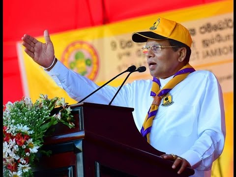 National Jamboree ceremonially  -  President