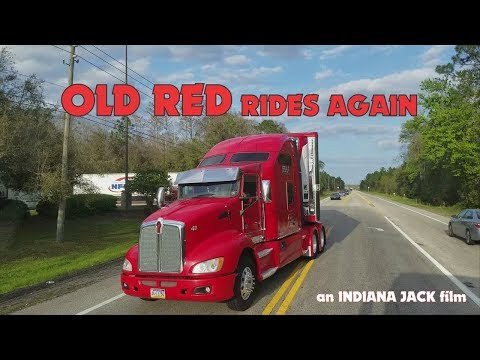 Old Red Rides Again