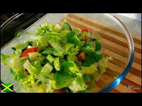 Summer Sweet Gem Lettuce Salad Recipe [Jamaican Chef ] | Recipes By Chef Ricardo