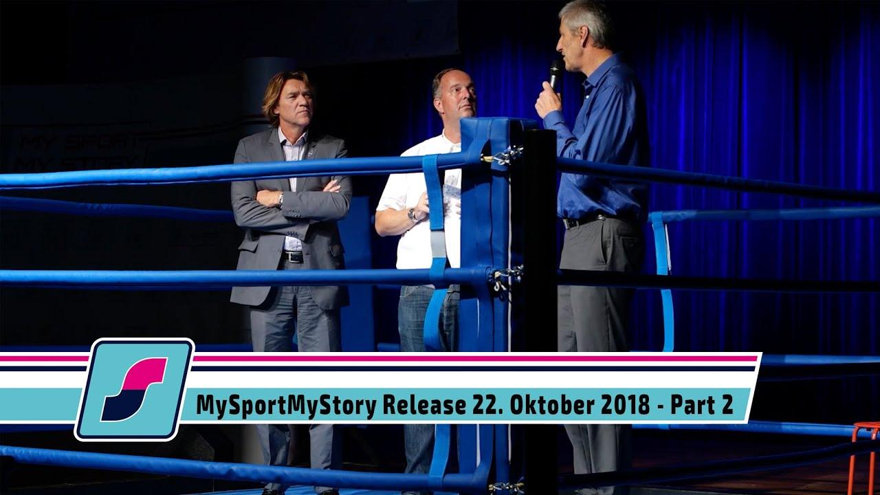 MySportMyStory Release am 22. Oktober 2018 - Part 2 - Gesprächsrunde Wirtschaft