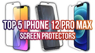 Top 5 iPhone 12 Pro Max Screen Protectors (3D Curved Tempered Glass & Film)!