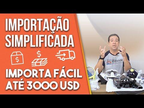 CUSTO DA IMPORTAÇÃO SIMPLIFICADA IMPORTA FÁCIL ATÉ 3000 USD