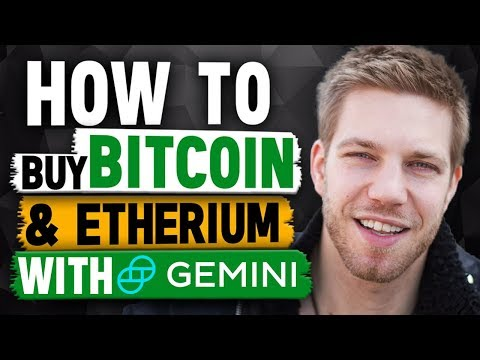 How to Buy Bitcoin & Ethereum with Gemini (Step by Step Guide)