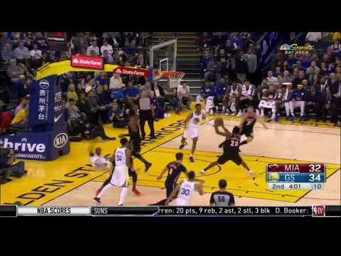 November 06, 2017 - NBATV - Game 10 Miami Heat @ Golden State Warriors - Loss (04-06)(NBA Gametime)