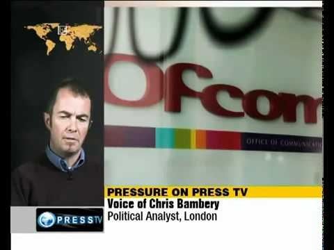 PressTV channel will be banned by OfCOM