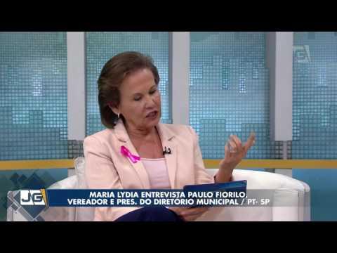 Maria Lydia entrevista Paulo Fiorilo, vereador e pres. do Diretório Municipal/PT-SP
