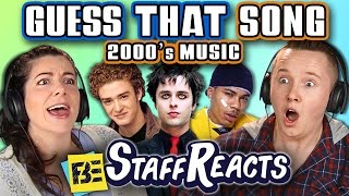 guess that song challenge 2000s songs ft fbe staff