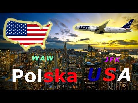 Trip Report - Warsaw WAW -  New York JFK.  LOT Polish Airlines  Dreamliner 787-8.