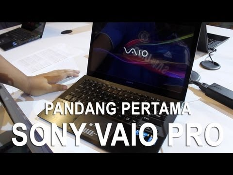 Pandang Pertama: Sony Vaio Pro