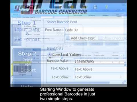 Barcode Generator | Barcode Software FREE Download Online