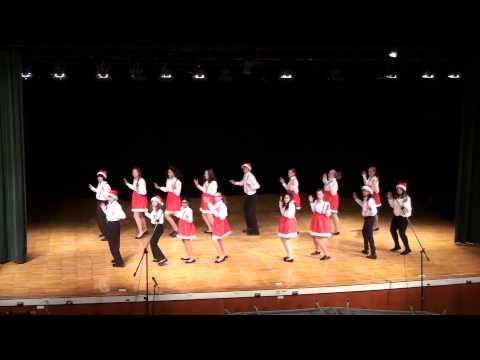 Jingle Bell Rock -  Greece Olympia Middle School Show Choir, Winter 2013