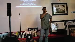 Tum hi ho - Aashiqui 2 Indian Bollywood song karaoke in Canada by Sumit Sharma