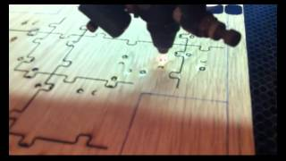 Laser Cutting Wood Puzzle