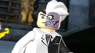 LEGO Batman: The Video Game Walkthrough - Episode 1-3 The Riddler