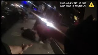 San Francisco Police Foot Chase and OIS   June 9 2018