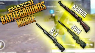 ONDE ENCONTRAR AS SNIPERS - PUBG MOBILE [LIGHTSPEED]