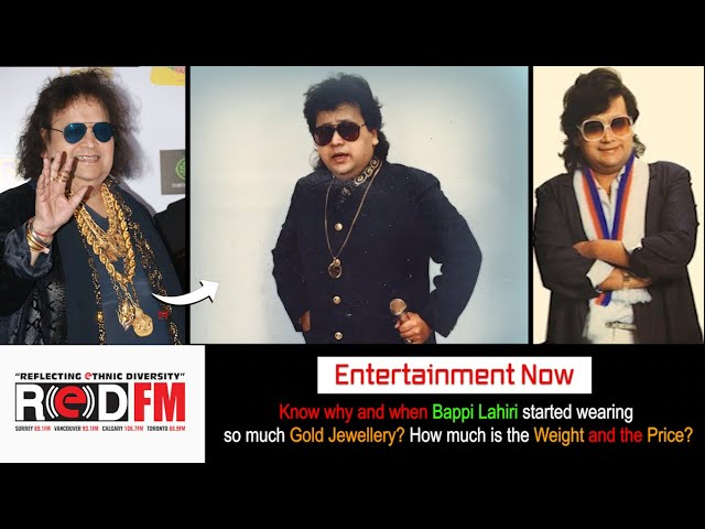 Unknown Story – Know why and when @bappilahiri_official_ started wearing so much Gold jewelry?