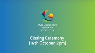 Closing Ceremony Livestream - 2019 INAS Global Games