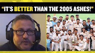 """IT'S BETTER THAN THE 2005 ASHES!"" 🏏 Darren Gough reacts to India's superb victory over Australia!"
