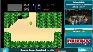 The Legend of Zelda (Glitched) by adefgames in 3:08 - Summer Games Done Quick 2015 - Part 83