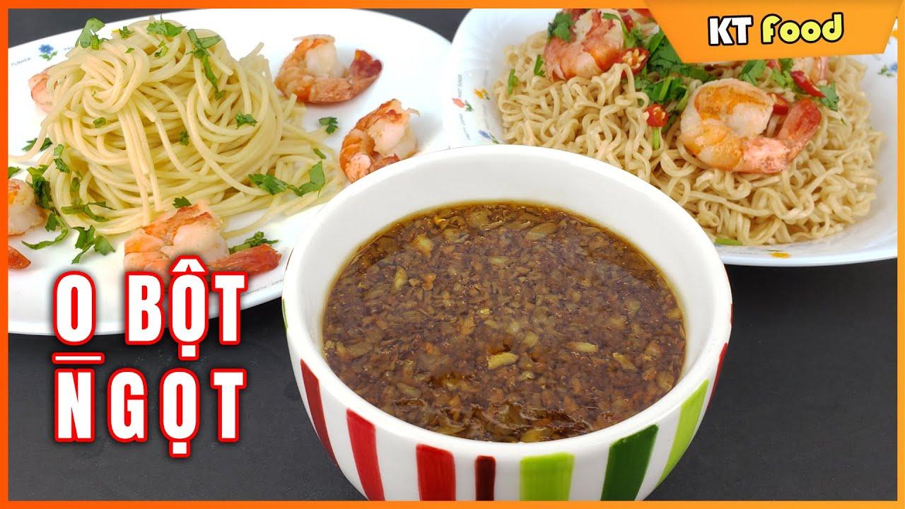 Sốt Bơ Tỏi Siêu Tiện Lợi dùng ăn Mì Gói, Mì Ý, Bún, Cơm, Rau Củ dành cho Gia đình bận rộn – KT Food