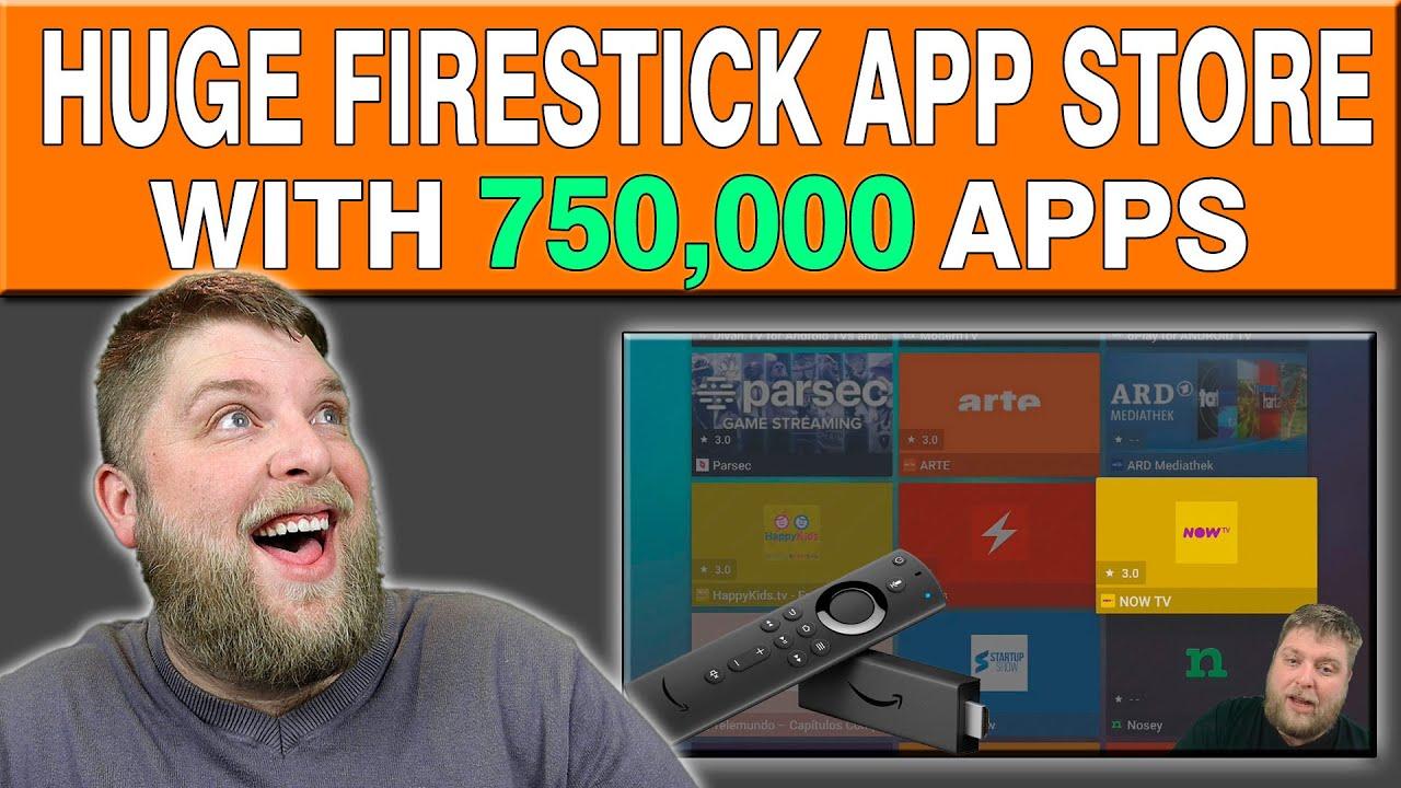 Download Huge Hidden App Store On Firestick