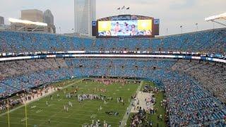 Carolina Panthers Bank of America Stadium 2014