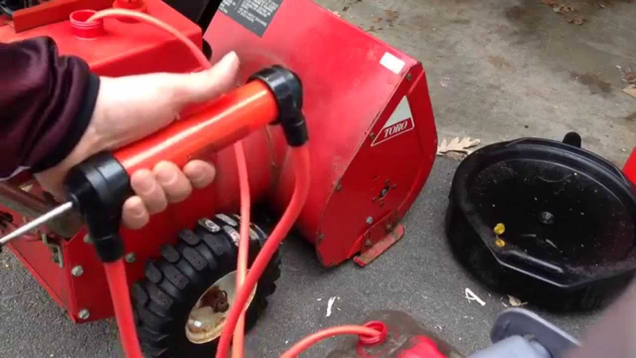 Remove Gas The Easy Way With A Fuel Transfer Pump Youtube