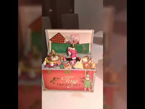Enesco Cajas de musica Musical box Enesco Rock city, dream keeper, toy treasures, etc